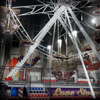 airbrush carrousel ferris wheel rides love stories full attraction