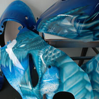aerograf airbrush dragon ice hayabusa