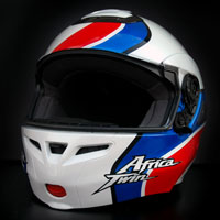 airbrush aerograf kask helmet shoei multitec africa twin
