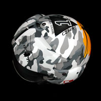 airbrush malowanie aerografem custompainting helmet gpa military mi24 heli
