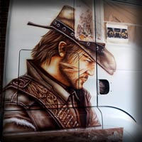 airbrush john marston art painting red dead redemption 2
